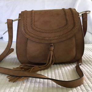 Franco Sarto saddle crossbody purse